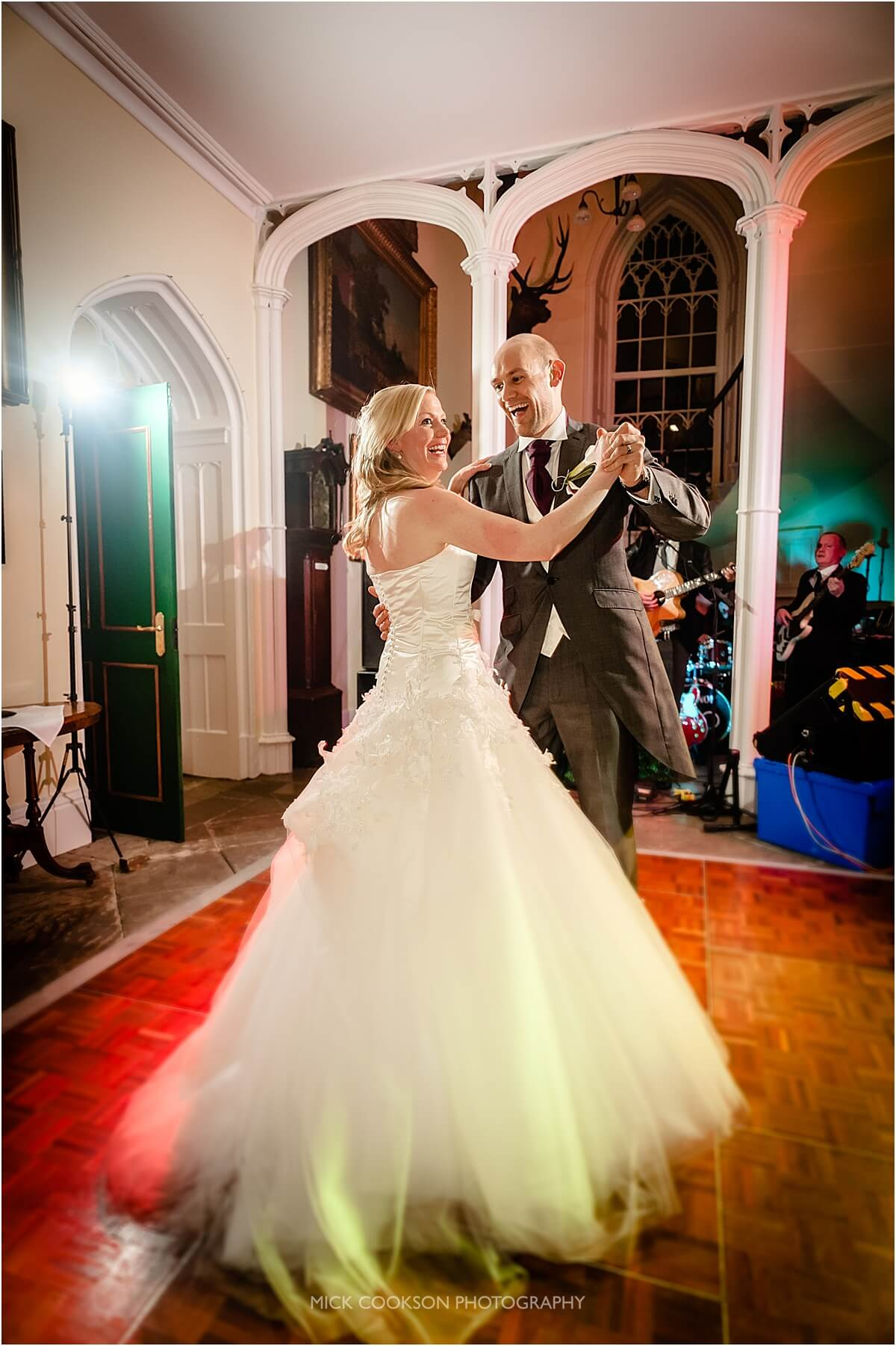 first dance at leighton hall