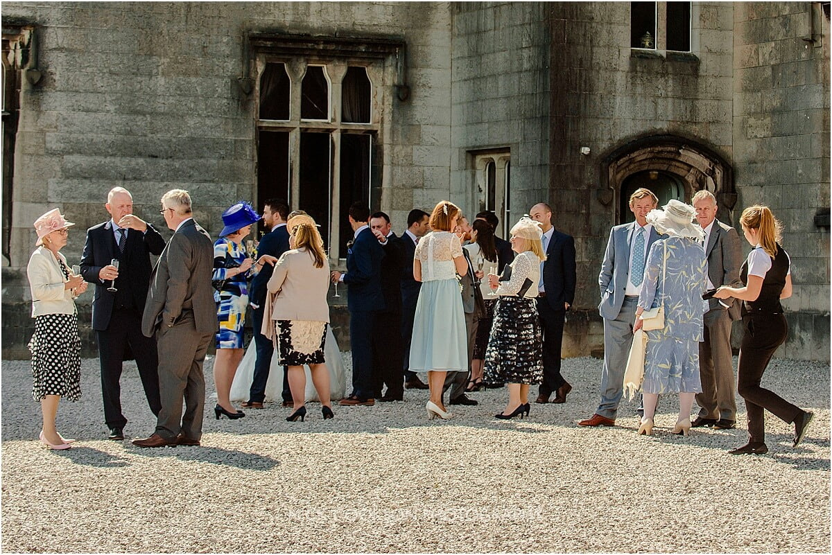 guests at leighton hall