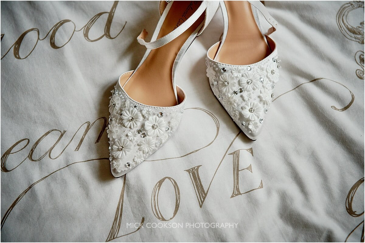 wedding shoes photo by mick cookson