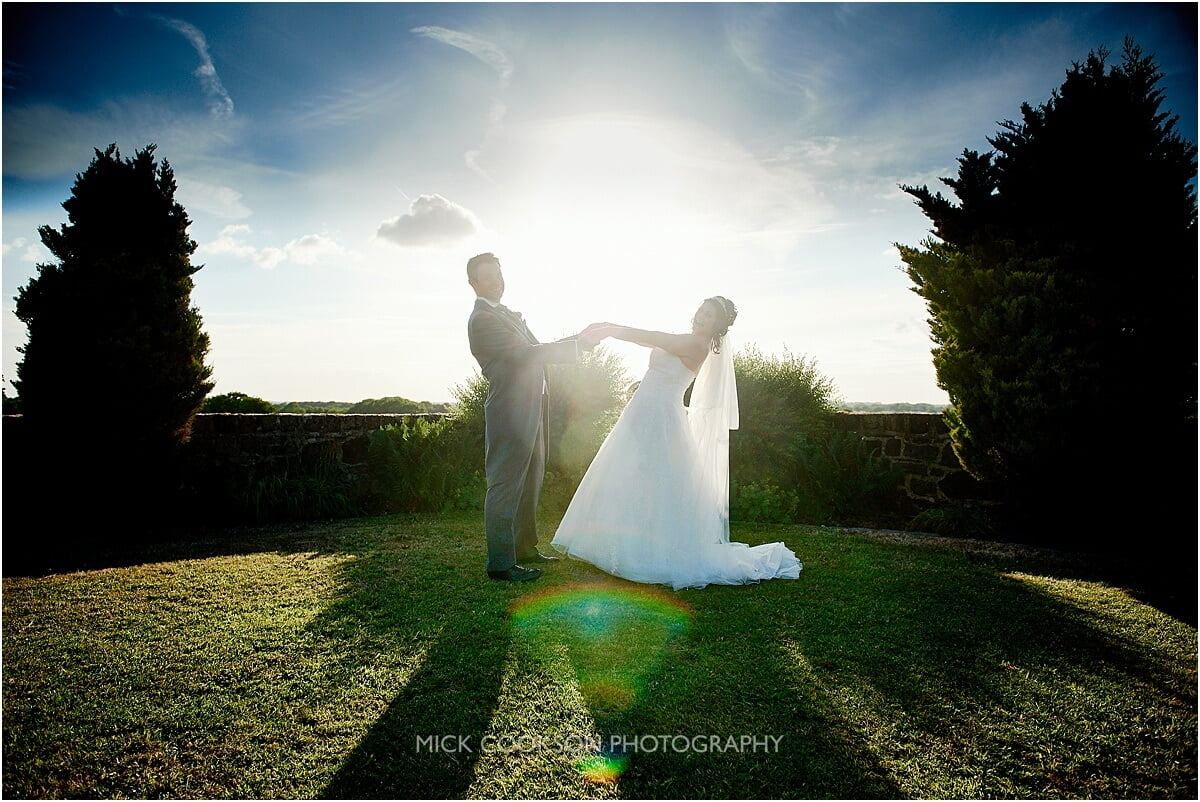 just married at beeston manor