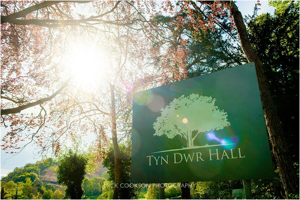 Tyn Dwr Hall entrance