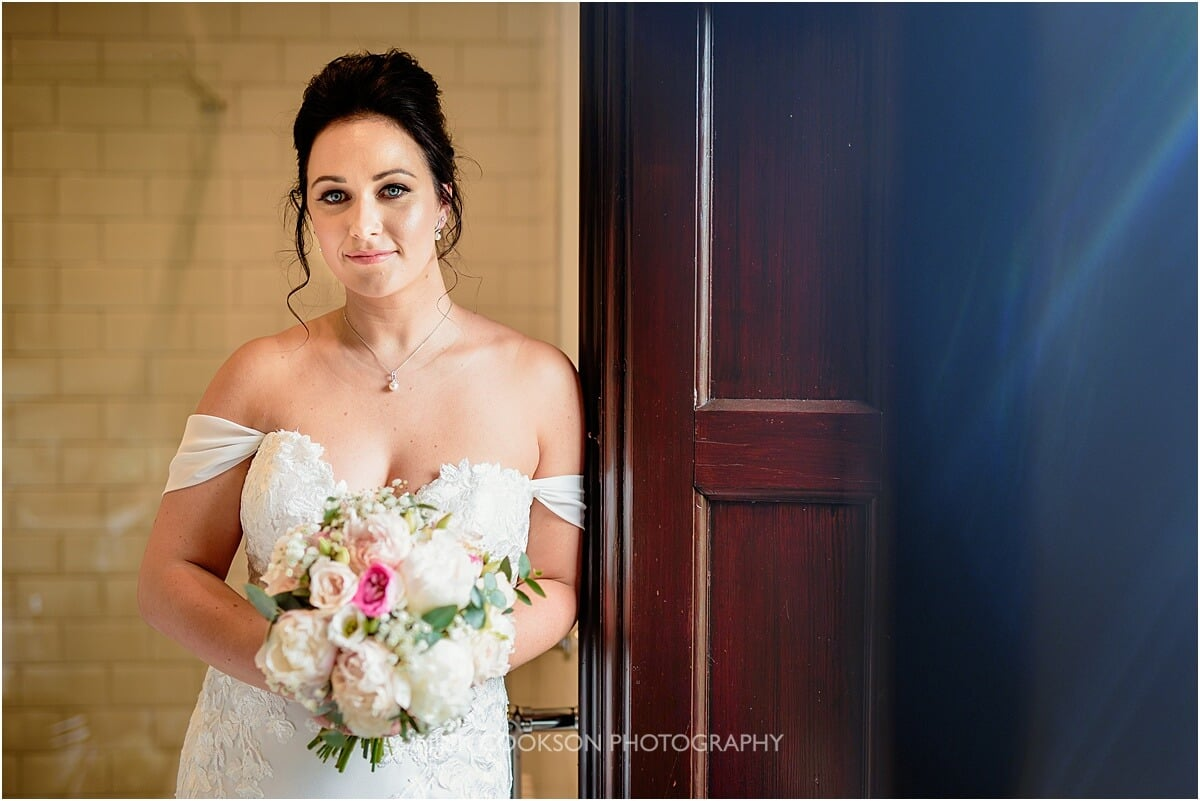 bride portrait at Tyn Dwr Hall