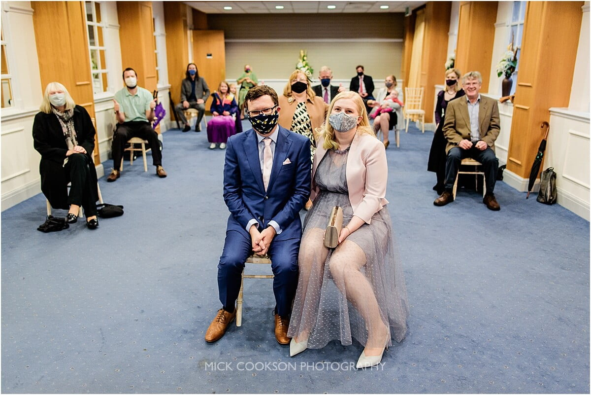covid restricted wedding