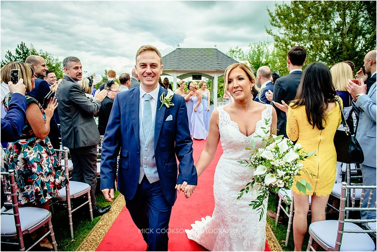 just married at cranage hall