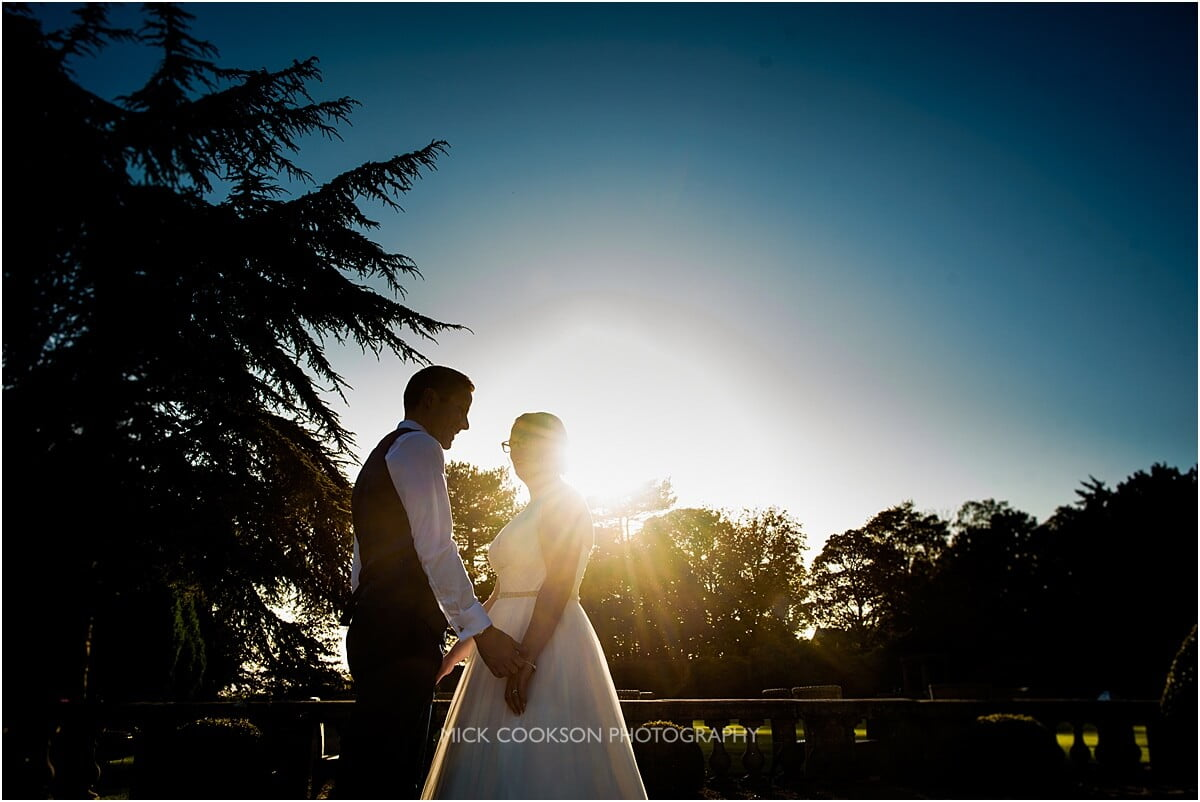 recommended eaves hall wedding photographer