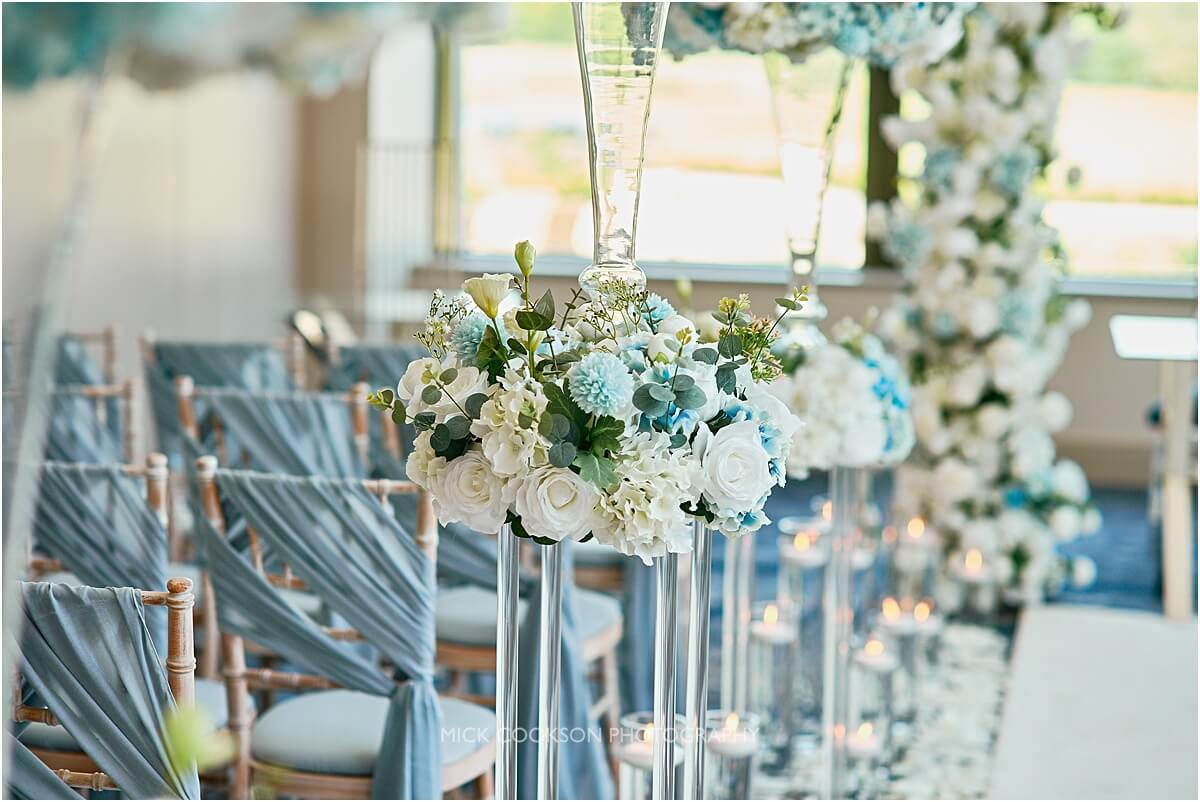 flowers by creative cover hire